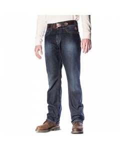 FR Cotton Work Men's Jeans - INDIGO