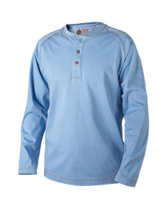J-Tek™ Henley Shirt - Medium Blue